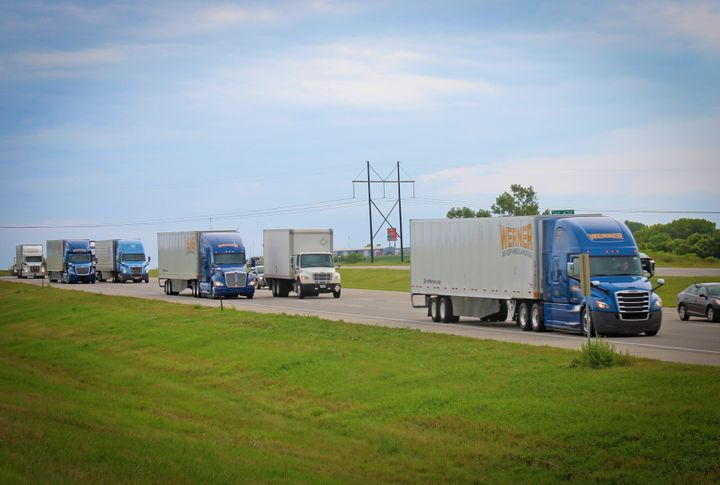 Federal and state governments, as well as fleets, and corporations are trying their best to keep drivers healthy, rested, clean and fed during the COVID-19 outbreak. But some drivers say not everything is going smoothly. - Photo: Werner Enterprises