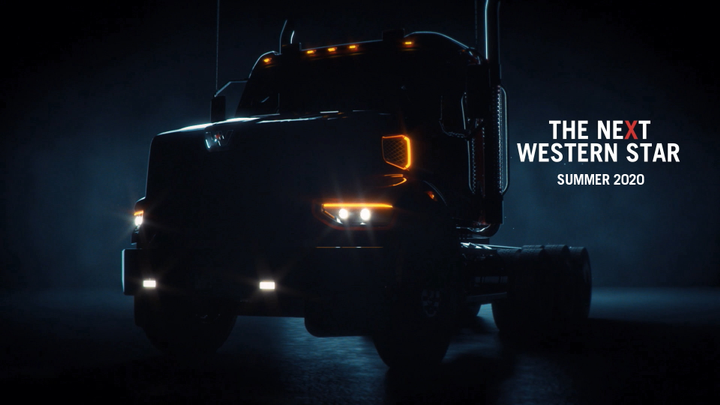 Western Star said its newest truck, which won't be fully reveated until this summer,will continue the company's emphasis on productivity, driver comfort and safety. - Photo: Western Star