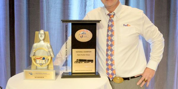 FedEx Freight driver Scott Woodrome took home his second consecutive win as the Bendix Grand...