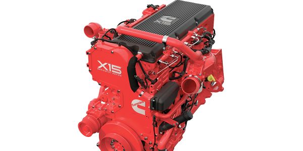 Cummins Inc. and Tula Technology used a Cummins X15 Efficiency Series 6-cylinder diesel engine...