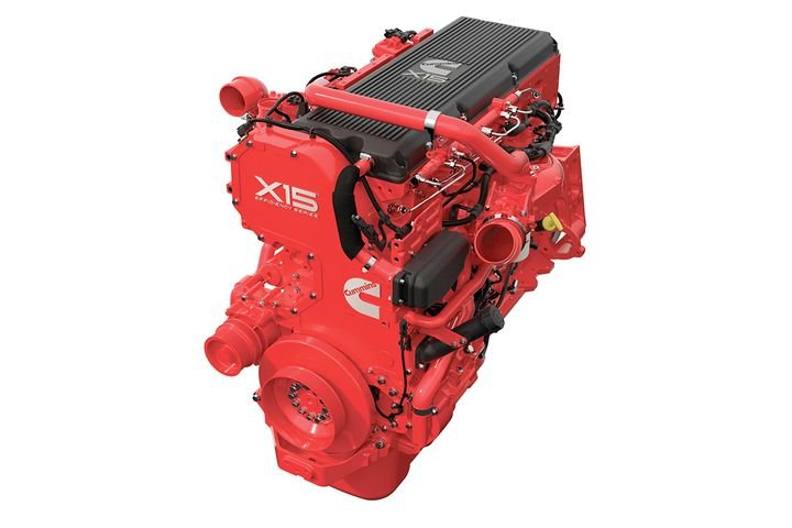 Cummins Inc. and Tula Technology used a Cummins X15 Efficiency Series 6-cylinder diesel engine and modified it to incorporate Tula's Dynamic Skip Fire to reduce emissions and fuel consumption. - Photo: Cummins