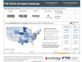 FTR Updates Interactive COVID-19 Impact Heatmap