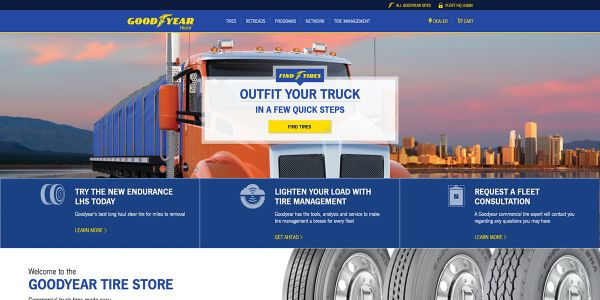 Goodyear Launches E-commerce Program with Convoy