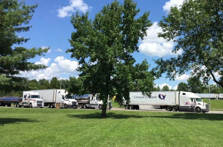 Some rest areas will soon see food trucks offering meals for truckers during the COVID-19 crisis.