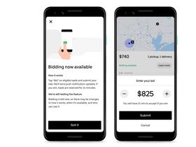 Uber Freight Adds Bidding to App