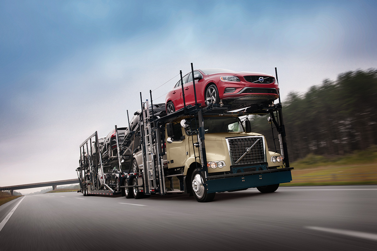 Volvo, Fontaine Modification Offer Reduced-Height Auto Hauler Day Cab