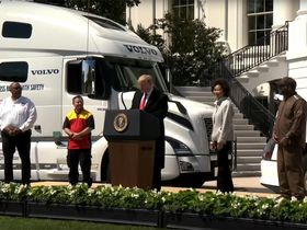Trump: 'Truck Drivers Form the Lifeblood of Our Economy'