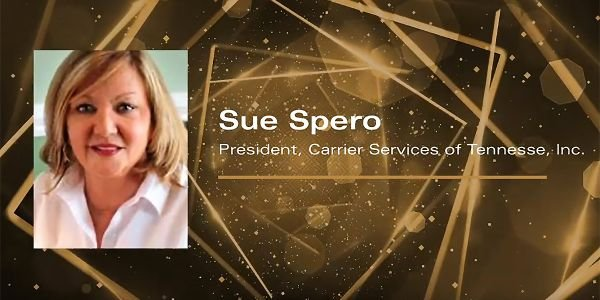 Sue Spero was honored with the sixth annual Distinguished Woman in Logistics Award via a virtual...