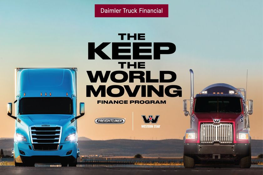 Daimler Truck Financial Finance Program to 'Keep the World Moving'