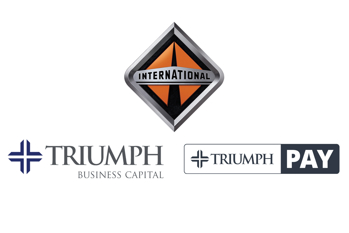 International Truck, Triumph Business Capital & TriumphPay Provide PPE to Truck Drivers