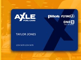 Pilot Company Introduces Axle Fuel Card