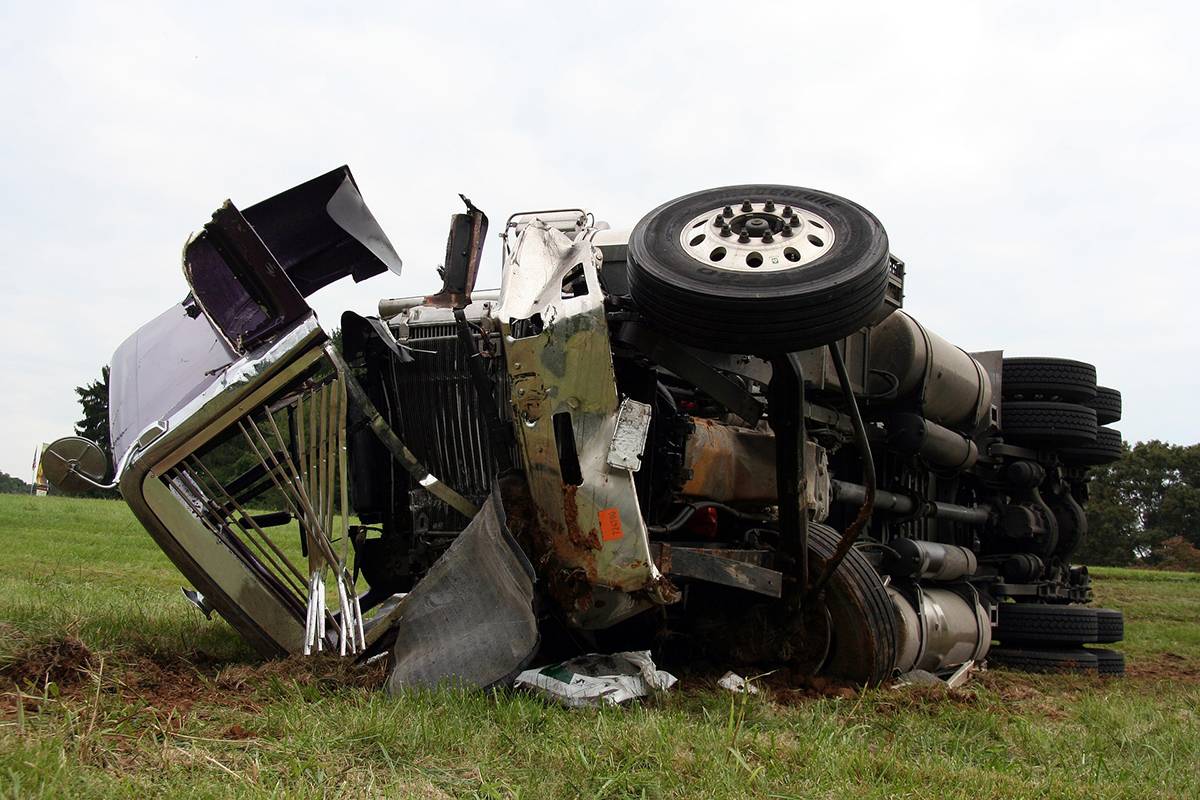 'Large Truck' Highway Fatalities Rose in 2019