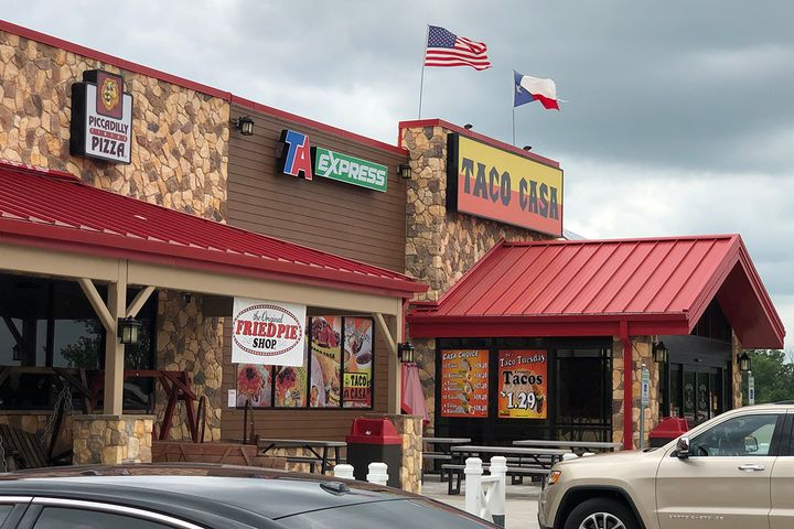 This TA Express in Mt. Vernon, Texas, opened in mid-May. - Photo: TA