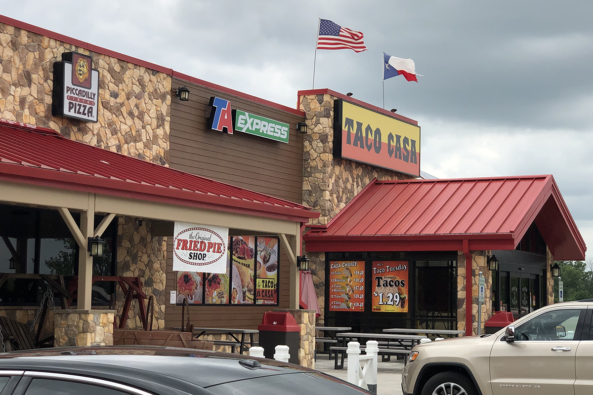 TravelCenters of America Expand with Franchising