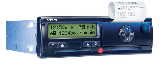 A publicity photo of the VDO RoadLog from 2012.