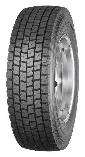 BFGoodrich's Route Control D drive tire provides good traction traction and long-wearing tread necessary in regional applications. - Photo: BF Goodrich