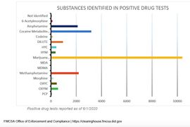 Marijuana Use Top Finding in First Drug & Alcohol Clearinghouse Report