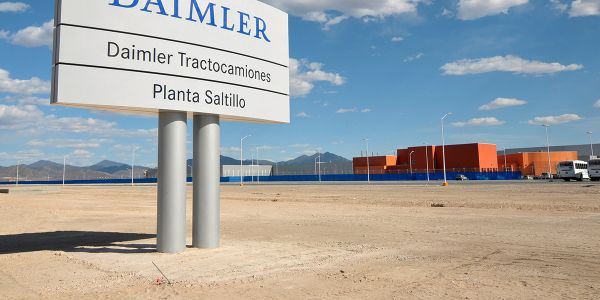 DTNA's plant in Saltillo, Mexico, was one of a pair that reopened on June 1, three months after...