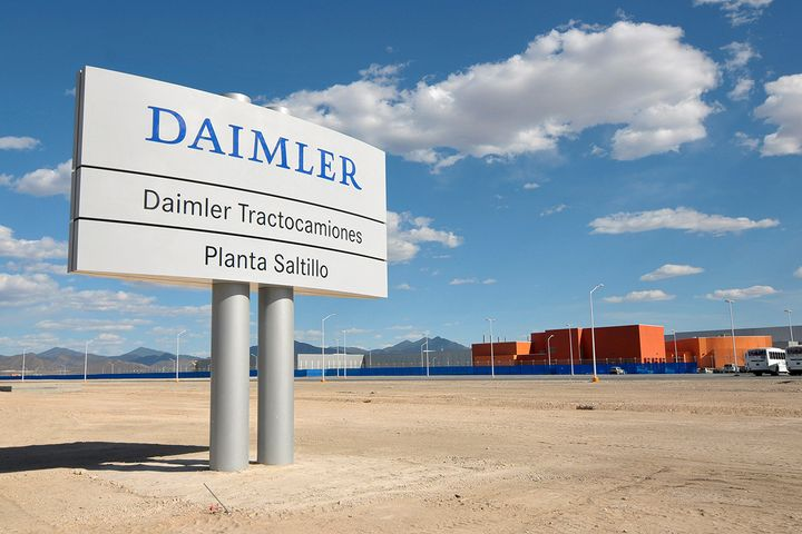 DTNA's plant in Saltillo, Mexico, was one of a pair that reopened on June 1, three months after closing to reduce the spread of COVID-19. - Photo: DTNA