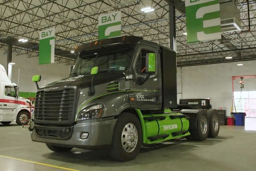 The Hypertruck Electric Range Extender launched with an order from logistics company Agility for...