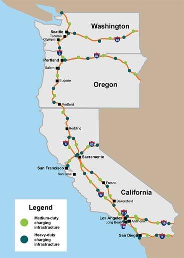- Source: West Coast Clean Transit