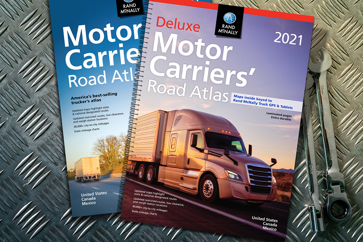 Rand McNally Releases 40th Edition of the Motor Carriers' Road Atlas