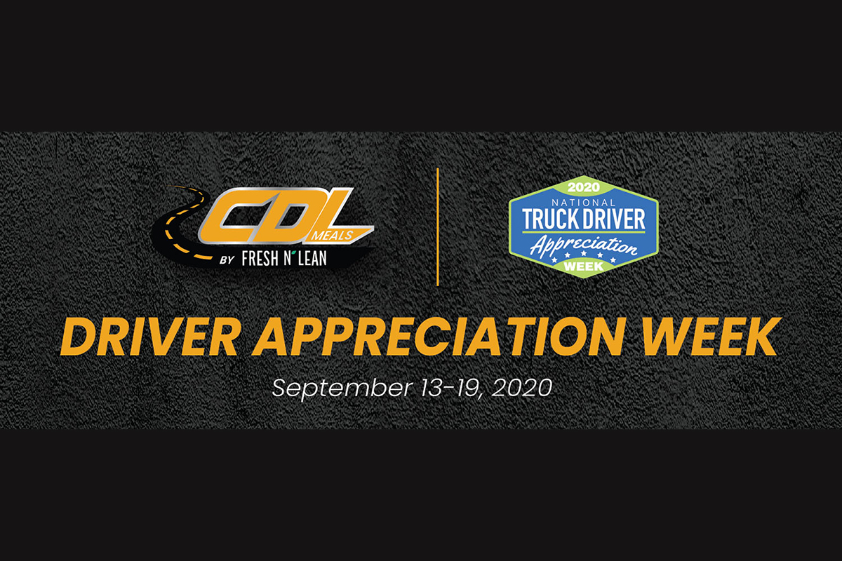 CDL Meals Promotion Celebrates Driver Appreciation Week