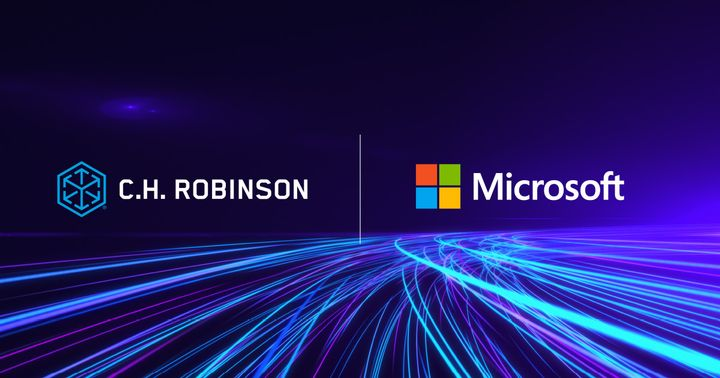 C.H. Robinson and Microsoft say their collaboration will bring more supply chain visibility.