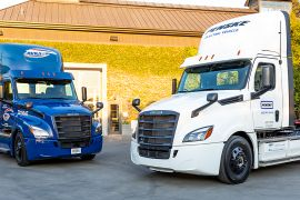 Freightliner Logs 300,000 Battery-Electric Miles