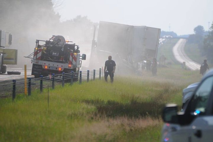 A truck driver who sped into a construction zone and killed four children has been declared an imminent hazard by FMCSA.  - Source: FMCSA Facebook page