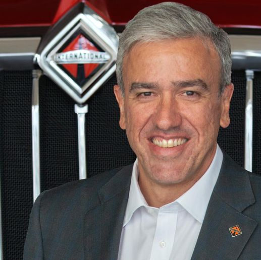 """Autonomous technology is entering our industry and will have a profound impact on our customers' businesses,"" said Persio Lisboa, president and CEO, Navistar. - Photo: Navistar"