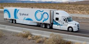 Plus.ai to Test Self-Driving Trucks with Multi-Vehicle Approach