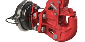 Premier Manufacturing's Pintle Hitch Closes Automatically