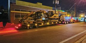 Talbert Manufacturing's 55-Ton Traveling Axle Trailer