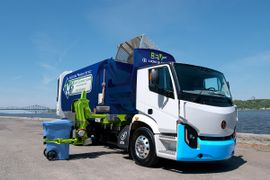 Lion Electric, Boivin Evolution Deliver Zero-Emission Refuse Trucks