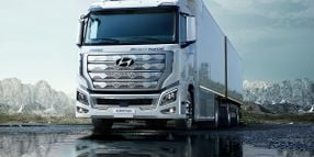 Hyundai's First Fuel Cell Truck Heads to Europe