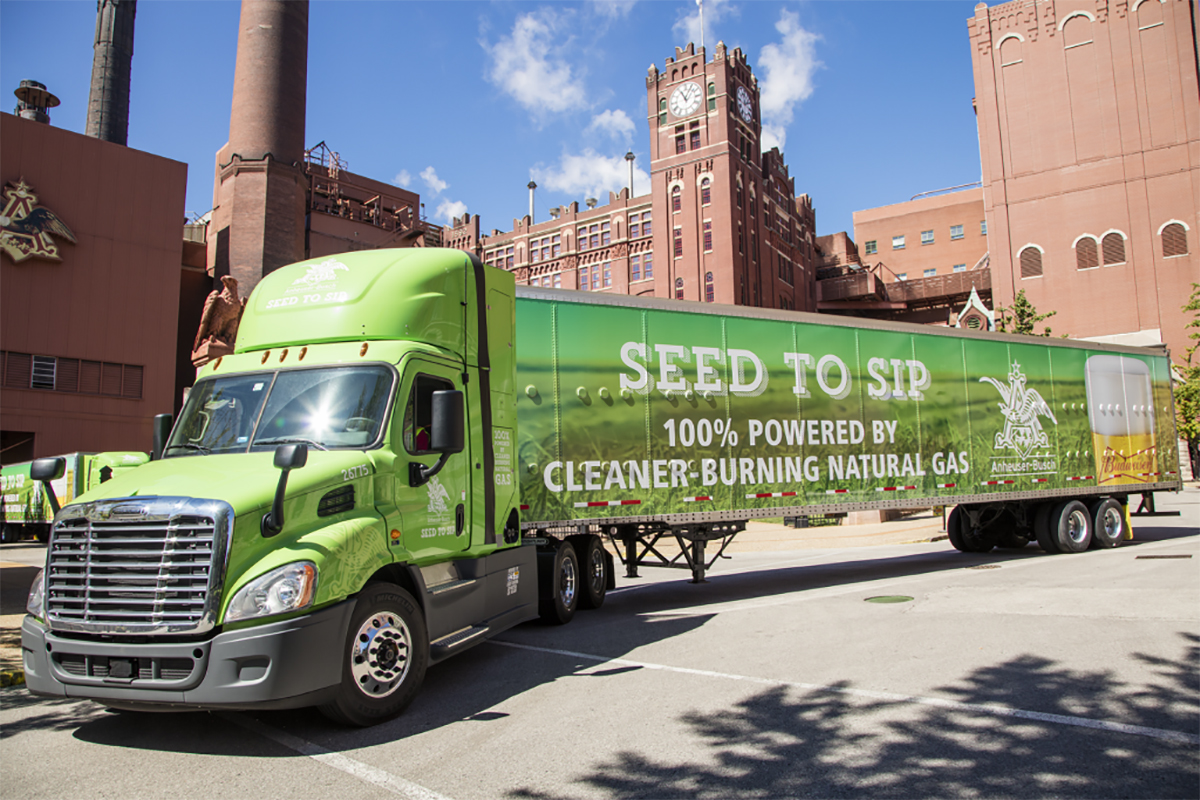 Anheuser-Busch Adds RNG to its Growing Green Fleet