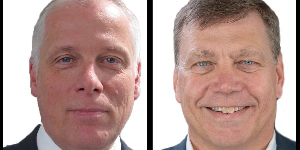 Friedrich Baumann (left) will take on the role of president of sales, marketing and aftersales,...