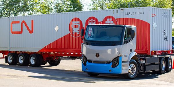 Lion Electric Gets 50-Truck Order From CN Rail