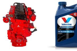 Valvoline Extends Drain Intervals for Diesel, Natural Gas Engines with New Oil