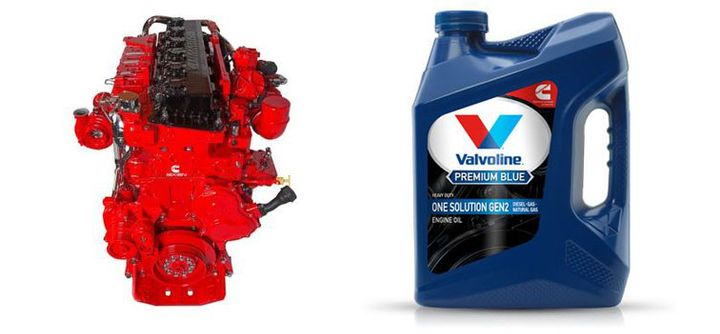 Valvoline and Cummins worked together to develop an engine oil designed for diesel, natural gas, and gasoline engines.