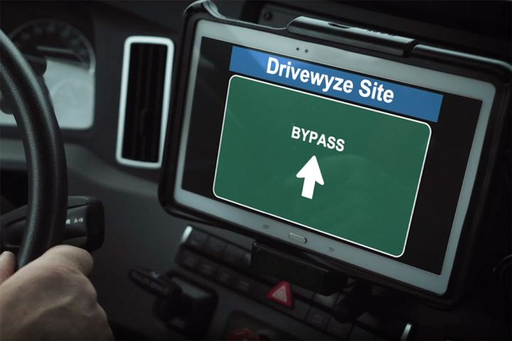 - Photo: Drivewyze