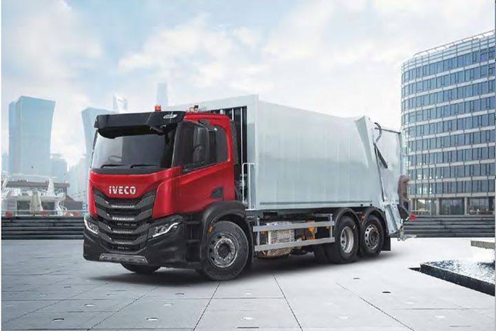 Validation work is already under way in Germany, where Nikola's manufacturing partner, Iveco, already builds a refuse collection chassis. - Photo: Iveco