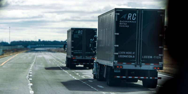 Locomation plans to provide two-truck convoys with safety staff and will work in tandem with the...