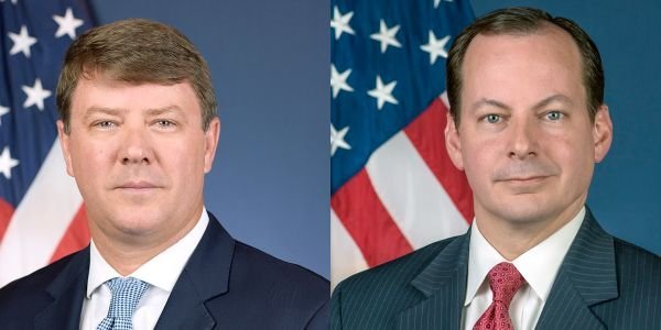 Acting Administrator Mullen (left) will be stepping down at the end of August, withWiley Deck,...