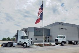 New Volvo Trucks Dealer Opens Outside Austin