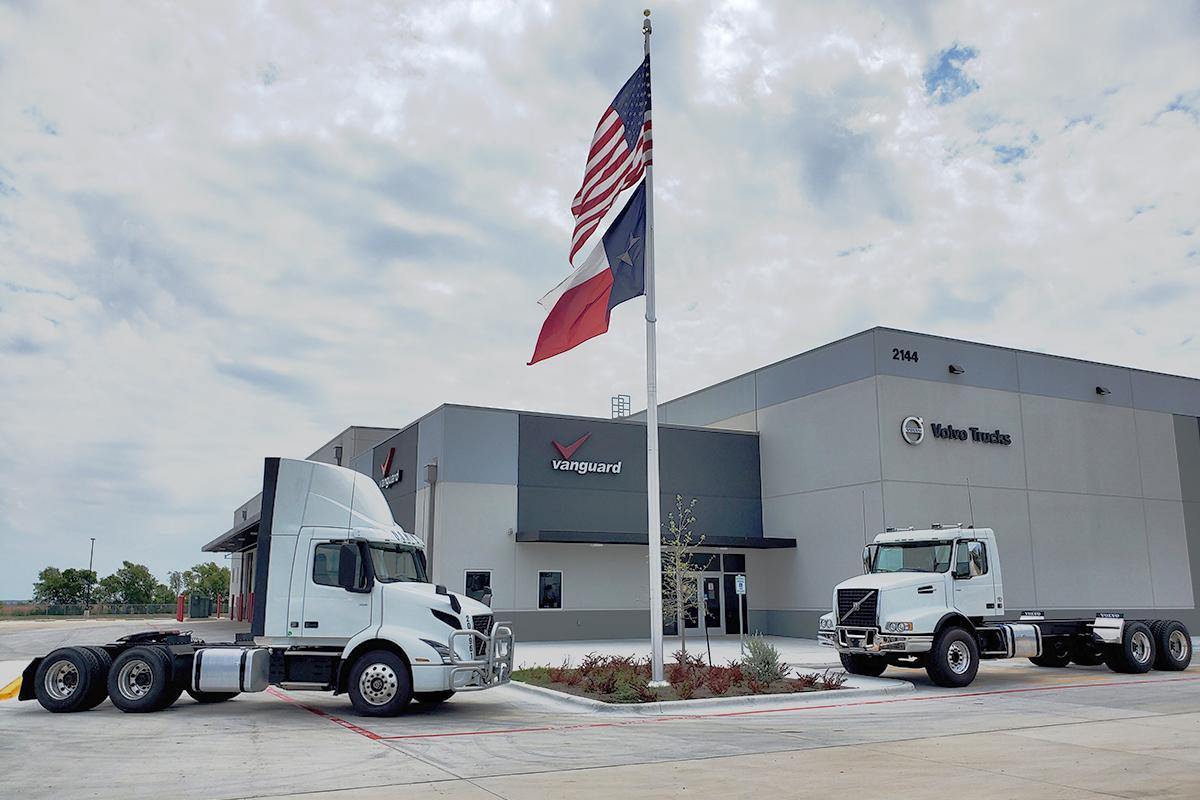 New Volvo Trucks Dealer Opens Outside Austin