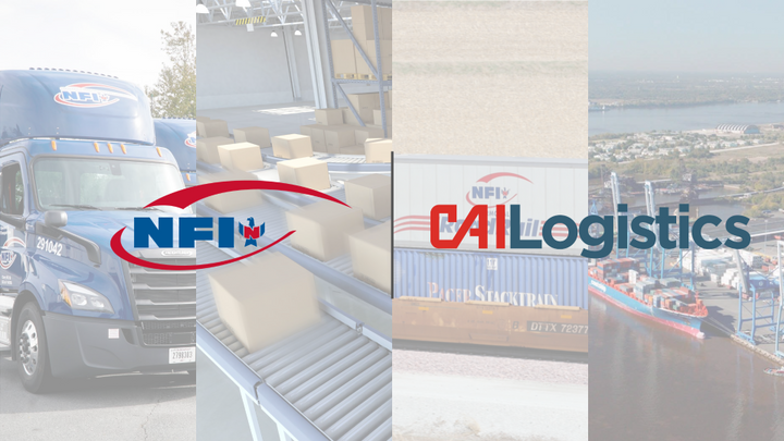 NFI's acquisition of CAI Logistics enhances its brokerage, intermodal, and global freight forwarding capabilities.