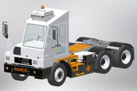 Firefly, Orange EV Deploy Tandem Pure-Electric Terminal Truck