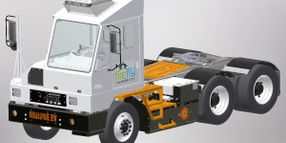 Firefly, Orange EV Deploy Tandem Pure-Electric Terminal Truck